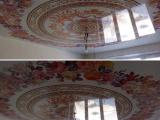Натяжной потолок с фотопечатью на лаковом полотне