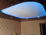 Установка двухуровневого потолка с подсветкой