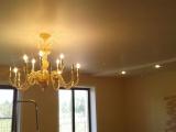 Установка двух-уровневого потолка в Юже в частном доме
